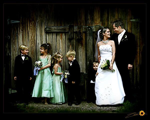 service de retouche ou montage de carte de remerciement - Montage Photo Remerciement Mariage